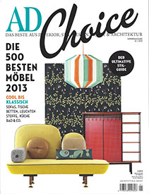 Architectural Digest Germany – 01 / 2013
