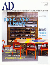 Architectural Digest – September 2009