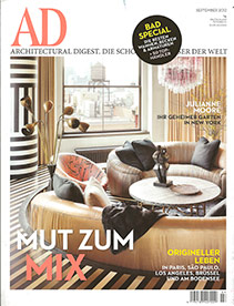 Architectural Digest – September 2012