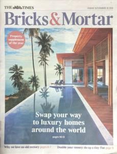 The Times – Bricks & Mortar November 2015