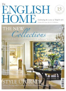 English Home Magazine – October 2015