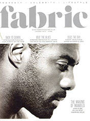 Fabric Magazine – January 2014