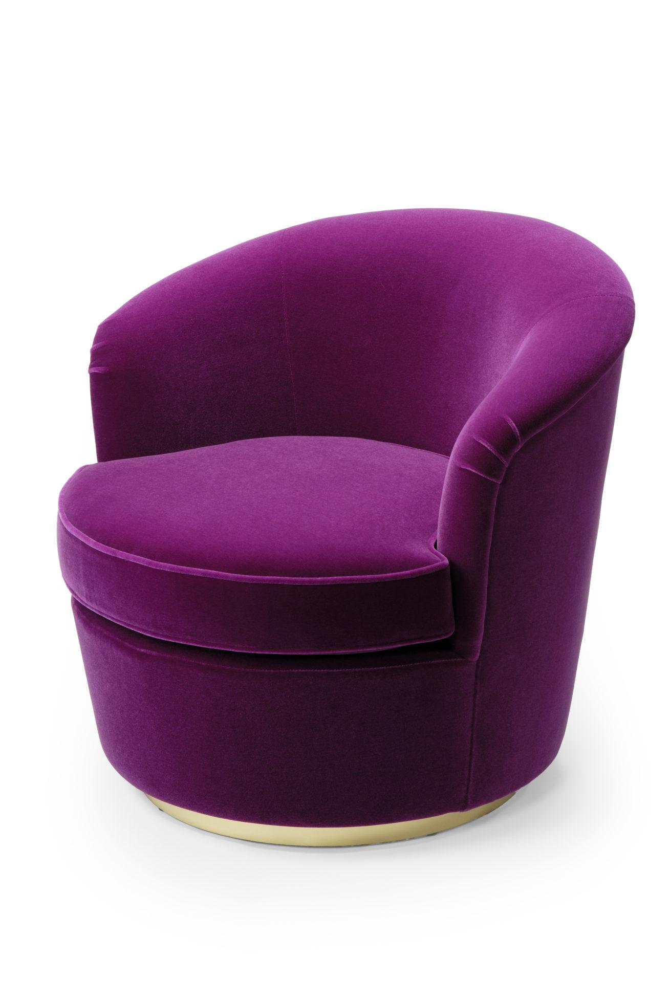 Floradora Swivel Chair Amy Somerville London