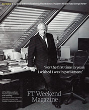 FT Weekend Magazine – September 2013