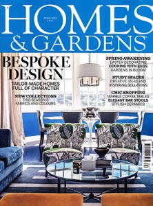 Homes and Gardens Magazine – April 2015