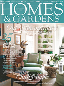 Homes and Gardens – October 2011