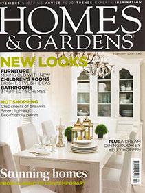 Homes & Gardens – February 2008