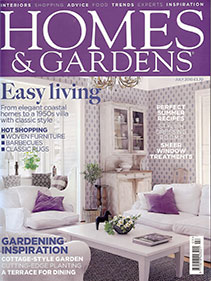 Homes & Gardens – July 2010