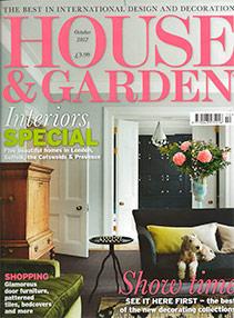 House & Garden – October 2012