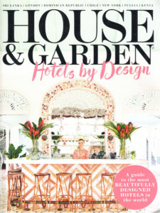 House and Garden Hotels by Design – May 2016
