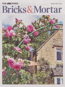 The Times – Bricks and Mortar Magazine – April 2015