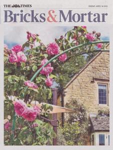 The Times – Bricks and Mortar Magazine – April 2015