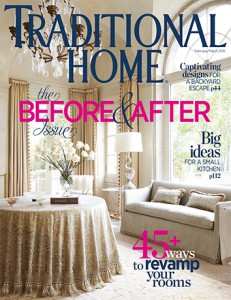 Traditional Home Magazine – February 2015